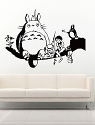 Sticker Children'S Room Decoration Wall Stickers Chinchilla Removable Waterproof My Neighbor Totoro Custom Sticker