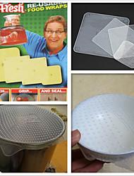 Специю 'п ложка выпечки&мыть в посудомоечной машине силиконовые крышки, 4-Pack