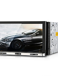 "7 ""2 Lärm-Auto-DVD-Player SD-Bluetooth-GPS-Navigation iPod-Schnittstelle Touch-Screen"