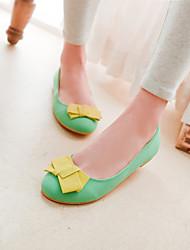 Women's Shoes Flat Heel Round Toe Flats Casual Green