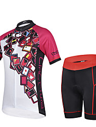 CHEJI Breathable Quick Dry Bike Clothing Bicycle Wear Riding Short Sleeve Cycling Shorts Cycling Jerseys