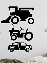 Fashion Vinyl Family Wall Car Wall Stick Vintage Home Poster Mural Decorative diy Mural Wallpaper for kidsroom