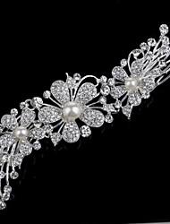 os novos pentes sasha coreano Vujacic diamantes pérola cocar noiva de jóias moda europeus e americanos