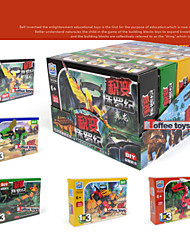 Models & Building Toy Hobbies Ship Motorcycle 5 In 1 Style Model Building Blocks Retail Simulation Scale Models