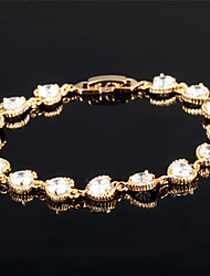 Lucky Heart Ms 18K Gold Bracelet