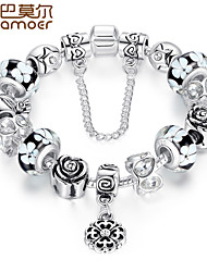 DIY fine glass bead bracelet jadoku chain with high-grade female snow accessories