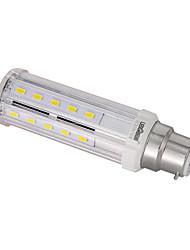10W E14 / B22 / E26/E27 Ampoules Maïs LED T 32PCS SMD 5730 100LM/W lm Blanc Chaud / Blanc Naturel Décorative AC 85-265 V 1 pièce