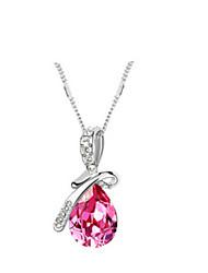 Austria del collar de cristal, joyería fina
