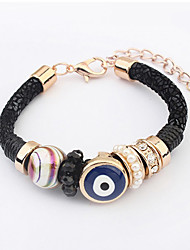 Cute / Casual Alloy / Rhinestone / Imitation Pearl / Resin Link/Chain Bracelet