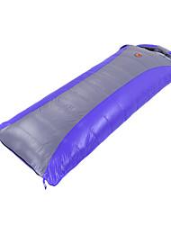 Спальный мешок Прямоугольный Односпальный комплект (Ш 150 x Д 200 см) -5℃ Утиный пух 1100 г 210X80 Путешествия Сохраняет тепло CAMEL