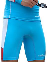 SABOLAY® Homme Short de Combinaison Combinaisons étanches Combinaison de plongée Résistant aux ultraviolets Compression Elasthanne Tactel