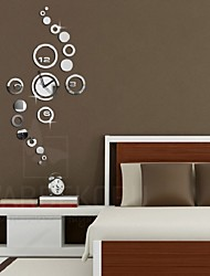 Mirror Circle Removable Decal Vinyl Art Wall Sticker Home Decor Clock Dial