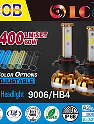liancheng® 60w 6400lm 9 ~ 32V высокой яркости COB светодиодные фары комплект-9006 / HB4 для автомобилей, внедорожных, утв, квадроциклы