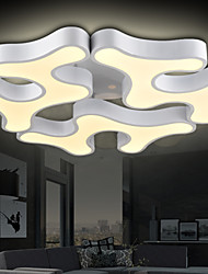 Flush Mount High Quality New Modern LED ceiling lights /Living Room / Bedroom / Dining Room /Study Room/Office Metal