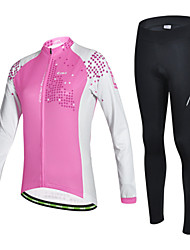 CHEJI Bike/Cycling Jersey / Jersey + Pants/Jersey+Tights / Arm Warmers / Clothing Sets/Suits Women's Long SleeveBreathable / Ultraviolet