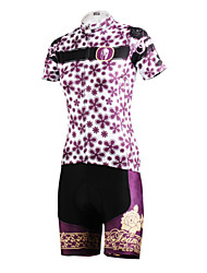 PALADIN® Cycling Jersey with Shorts Women's Short Sleeve Bike Breathable / Quick Dry / Back PocketJersey / Jersey + Shorts / Clothing