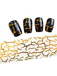 10pcs 100cmx4cm  Glitter  Nail Foil Sticker  DIY Beauty  Nail Decorations Nail Art Sticker STZXK01-49