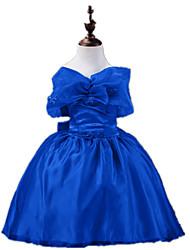 Mädchen Kleid - Polyester Ganzjährig Blau