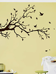 Large SIZE: 996x575mm Tree Wall Stick Fashion Vinyl Family Wall Home Decoration Brick Wallpaper