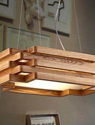 Modern/Contemporary / Country Mini Style Wood/Bamboo Pendant Lights Dining Room / Study Room/Office