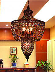 Mediterranean Color LED Crystal Lamp Southeast Asia Bar Black Light Restaurant