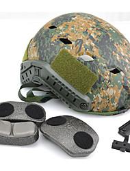 nouvelle jungle de la mode vert camo digtal tactique base militaire paintball airsoft rapide de style saut casque, casque militaire