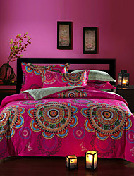 Boho bStyle Bedding Set Queen Size pure Cotton Fabric