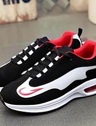 женские ботинки баскетбола работает синтетический черный / красный