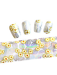 1PCS New 100x4cm  Mixed Nail Art Foils  Glitter Design  Nail Art DIY  Decorations  Sticker STZXK36-40
