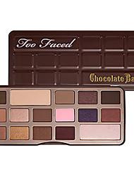 16 Paleta de Sombras de Ojos Seco Paleta de sombra de ojos Polvo NormalMaquillaje de Diario / Maquillaje de Fiesta / Maquillaje Ojos de