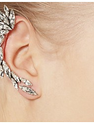 Earring Ear Cuffs Jewelry Women Alloy / Rhinestone 2pcs Silver