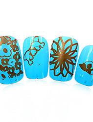 1pcs nieuwe 12x6cm image diy stamping platen nail art templates stencils voor polish xy-L18