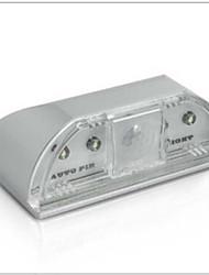 4 llevó pir automático de puerta inalámbrico lámpara de luz del sensor de movimiento por infrarrojos ojo de la cerradura