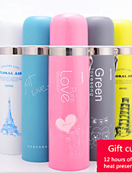 Matte Surface, Stainless Steel Vacuum Thermos  Children High-Grade Tea Cup, Cup, Gift Cup,350ml ,