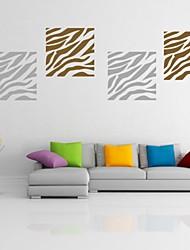 Animaux / Forme / Abstrait Stickers muraux Stickers avion,PVC S:35*35cm/ M:44*44cm / L:57*57cm