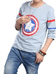 Boy's Cotton Tee , Spring Long Sleeve