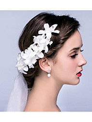 Handmade Lace Flowers Married The Forehead Wedding Jewelry