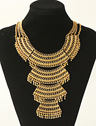 MPL Retro fashion exaggerated Coin Necklace