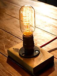 Edison Bulb Vintage Table Lamps Personalized Water Pipe Night Light Desk Lamp E27 110V-220V -FJ-DT2X2-039B0
