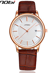 Men's Watch Authentic Leather Strap Black Business Watches Outdoor High Quality Complete Calendar Man Wrist Watch