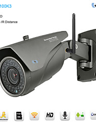 Snov® Surveillance P2P WIFI HD Outdoor Camera with 36pcs LED, IOS & Andriod APP SV-C100K3