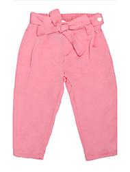 Pantalones Chica de - Todas las Temporadas - Algodón - Rosa