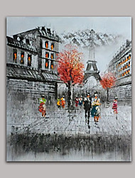 1 Panel Pure Hand-painted Oil Painting on  Canvas Hanging on Living Room