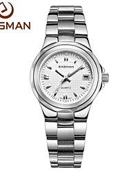 EASMAN® Brands Watch White Date Waterproof Women Ladies Watches Steel Quartz Luxury Watches for Women Cool Watches Unique Watches