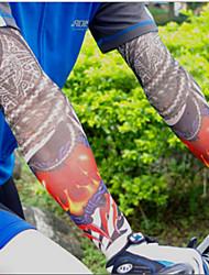 Fashion Sport Bike Cycling Arm Sleeves Cover Skin Sun Protection Elastic Armband(2PCS)