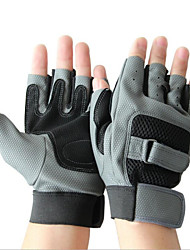 Fulang PU Gloves Outdoor Half Finger Quick-drying Mountaineering Antiskid Wear Gloves GE35