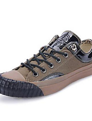 Men's Shoes Casual Canvas Fashion Sneakers Green