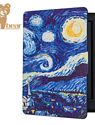 Ultra Magnetic Auto Sleep Slim Cover Case Hard Shell For Kobo Touch 2.0 Starry Sky 6.0 Inch