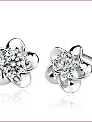 Boucles d'oreille goujon Bijoux Femme Mariage Soirée Quotidien Décontracté Sports Perle Argent sterling Imitation de perle 1pc