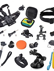 Accessories For GoPro,Protective Case Lens Cap Monopod Tripod Case/Bags Screw Suction Cup Straps Hand Grips/Finger Grooves Clip